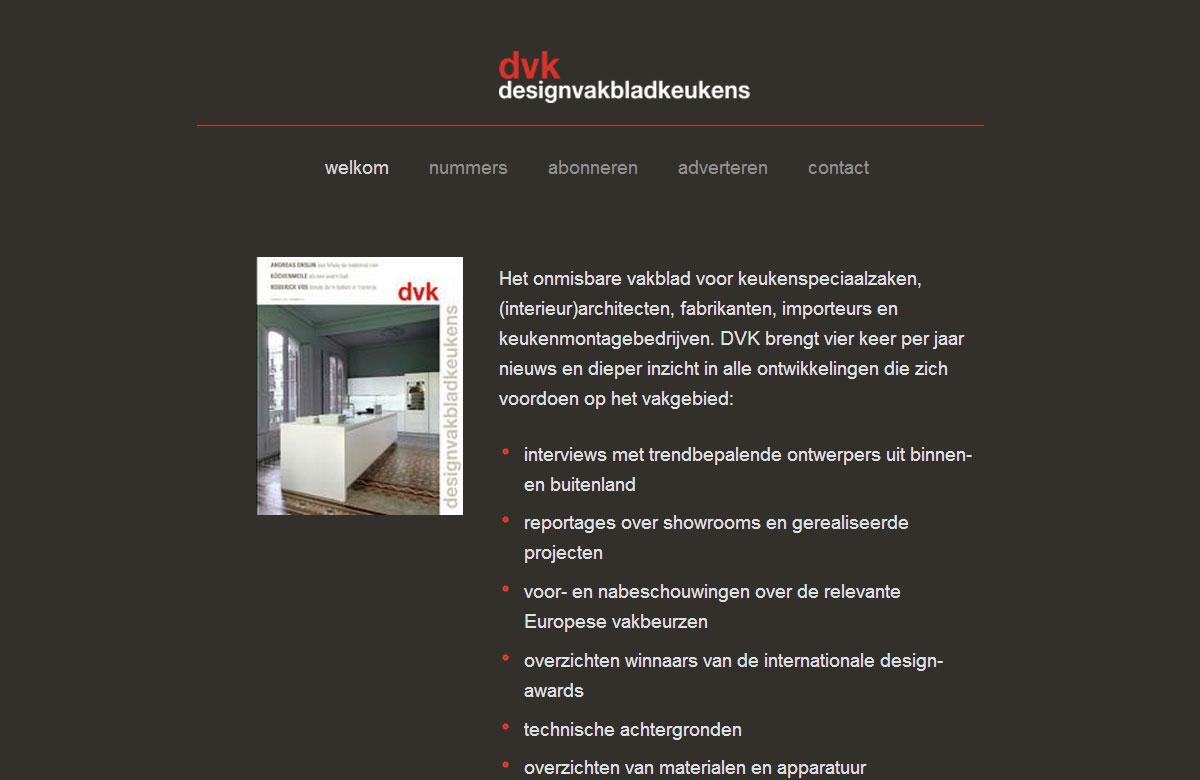 Designvakbladkeukens