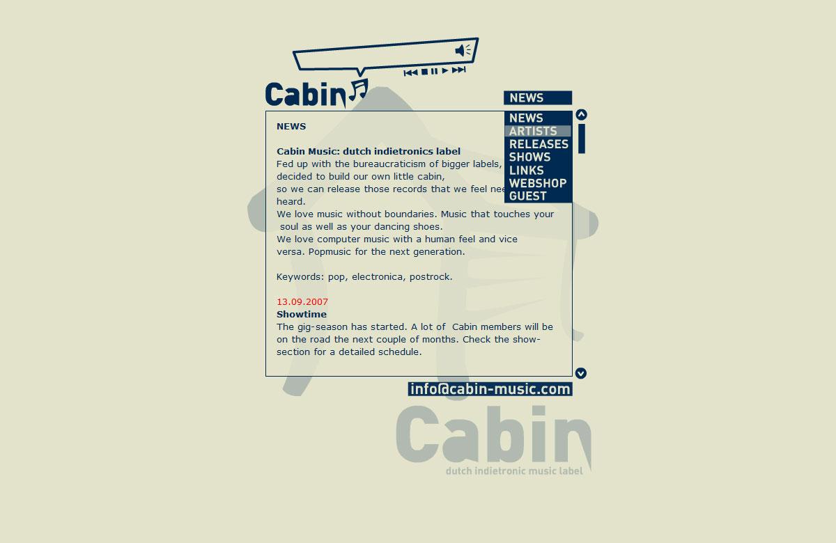 Cabin Music 2004