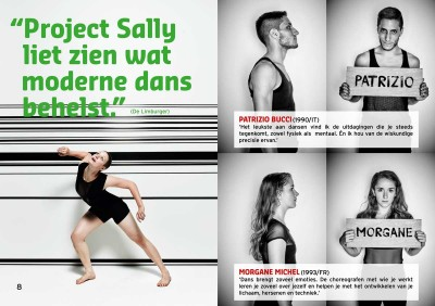Project Sally REVOLT magazine